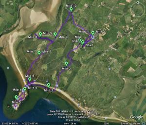 11.5 miles ambled