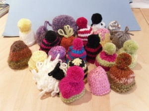 21 hats for the Big Knit