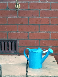 Watering can with context