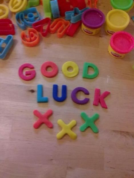 Best good luck wish ever