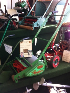 Hilda Ogden's lawnmower.