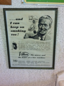 Ah, the heady days of straightforward advertising.