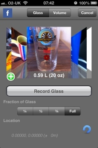 Usually contains water or squash. It's been a while since this glass has seen beer.